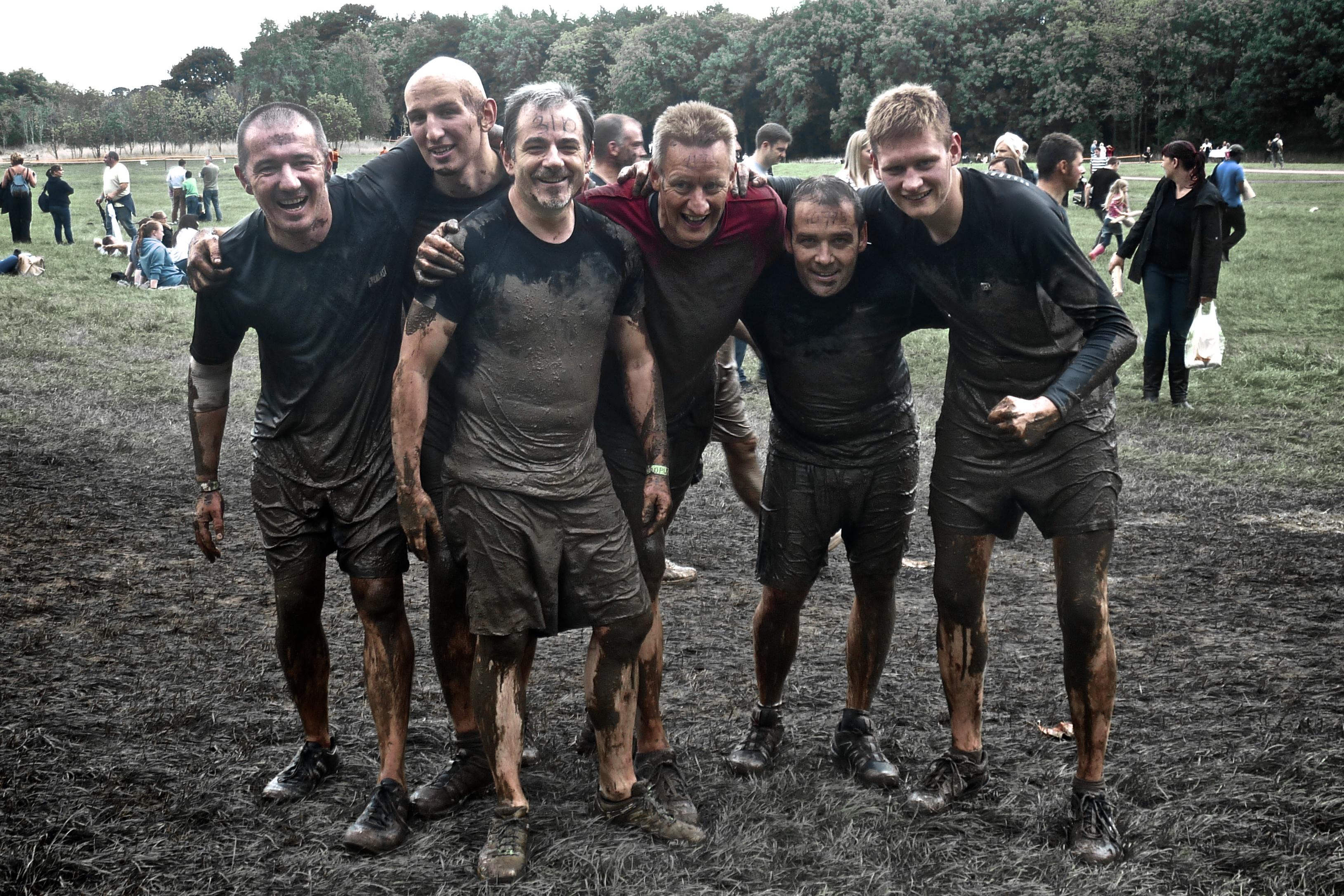 Exolta join MBN for the Edinburgh 2013 Tough Mudder